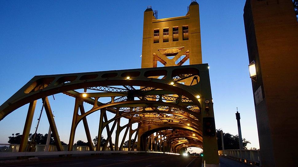 Tower Bridge, Sacramento, CA