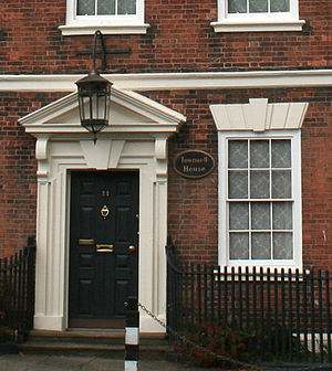 Townwell House, Nantwich - Entrance detail