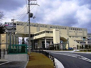 Toyokawa Station (Osaka) railway station in Ibaraki, Osaka prefecture, Japan