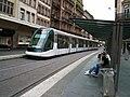 TramStrasbourg lineB HommeFer versHoenheim.JPG