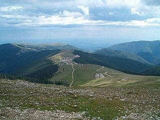 Păpușa Peak (Parâng Mountains) Mountain in Romania