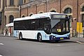 Transport NSW liveried (mo 5436), operated by Punchbowl Bus Co, Custom Coaches 'CB80' bodied Volvo B7RLE at Central station.jpg