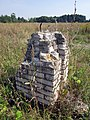 Trascianiec memorial complex (Minsk) 21 and unknown ruins.jpg
