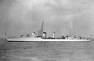 HMS Afridi