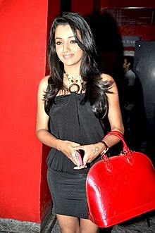 Trisha Krishnan at the screening of Khatta Meeta.jpg