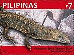 Tropidophorus grayi 2011 stamp of the Philippines.jpg