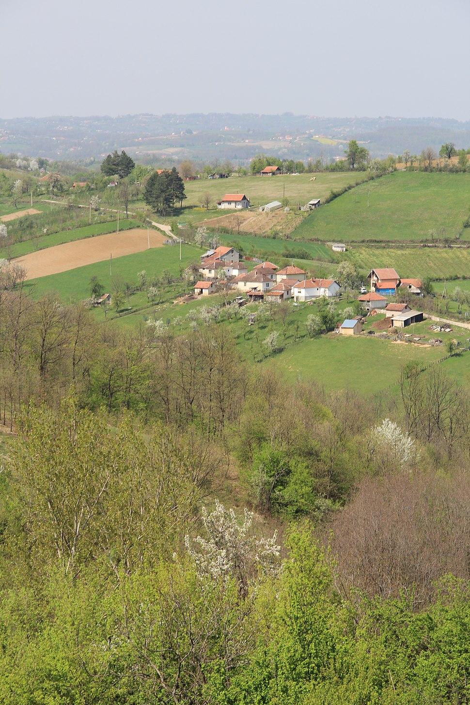 Tupanci - opština Valjevo - zapadna Srbija - panorama 21
