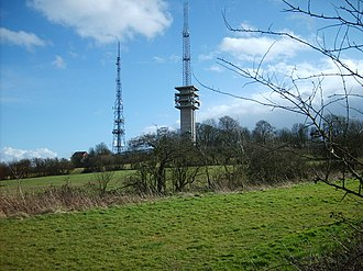 Rowley Regis - Turner's Hill, the highest point in the West Midlands
