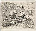 Twee lopende herten, RP-P-OB-19.877.jpg