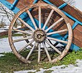 Two-wheeled open carriage Onet-le-Chateau 02.jpg
