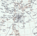 Typhoon Sarah surface analysis September 15, 1959.png