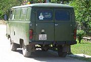 UAZ 452 rear q