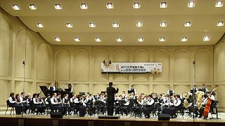 UFT in Concert at the 15th WASBE International Conference, 5th of July 2011, Taiwan