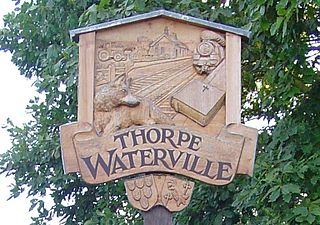 Thorpe Waterville village in United Kingdom