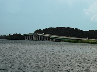 Marshall County, Alabama - U.S. Highway 431 over the Tennessee River