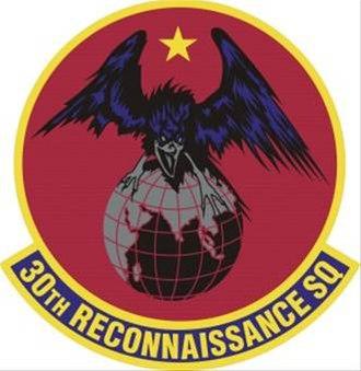 30th Reconnaissance Squadron - Squadron Insignia