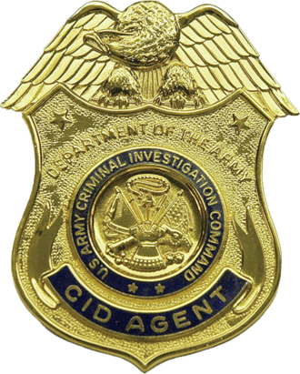 United States Army Criminal Investigation Command - Image: USA Army CID Badge