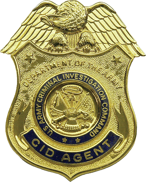 USA - Army CID Badge