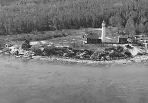 Au Sable Light - Undated USCG photo