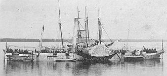 USS Miami (1861) - Image: USS Miami 1861