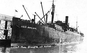 SS Ancon (1901) - Image: USS Ancon (ID 1467)