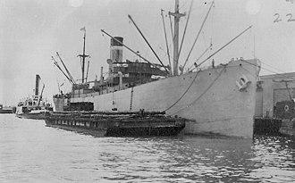 Short Brothers of Sunderland - Image: USS Cacique World War I