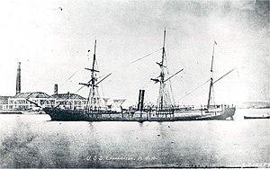 USS Canandaigua (1862) - USS Canandaigua