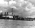 USS Raleigh CL-7 fantail Pearl Harbor 1941.jpg