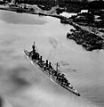 USS Richmond (CL-9) in Gatun Lake on 11 October 1945.jpg