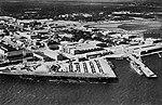 USS Saipan (CVL-48) at Naval Air Station Pensacola, circa in 1946.jpg