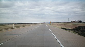 U.S. Route 287 in Texas - U.S. Route 287 in North Texas