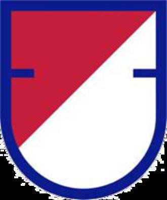 40th Cavalry Regiment (United States) - Image: US Army 1st Sq 40th Cav Reg Flash