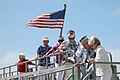US Navy 070719-N-4128S-005 Members of the Pearl Harbor Survivors Association depart guided-missile destroyer USS Kidd (DDG 100) during the ship's homeport arrival.jpg