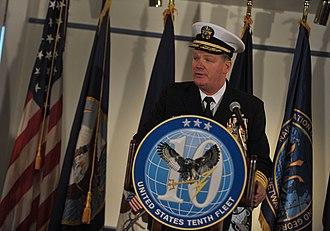 U.S. Fleet Cyber Command - Vice Adm. Barry McCullough, first commander of U.S. Fleet Cyber Command
