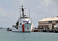 US Navy 100427-N-8241M-009 The U.S. Coast Guard Medium Endurance-class cutter USCGC Vigorous (WMEC-627) makes final preparations to get underway from Naval Station Guantanamo Bay, Cuba.jpg