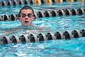 US Navy 110713-N-OA833-005 A Plebe in the U.S. Naval Academy Class of 2015 receives basic swimming and diving instruction at Lejeune Hall.jpg
