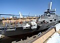 US Navy 110720-N-DI719-012 The littoral combat ship USS Freedom (LCS 1) continues a scheduled four-month maintenance period in a dry dock at Naval.jpg