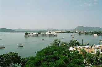 Lake Pichola - Image: Udaipur Lake India
