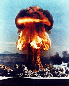 Image result for atomic bomb mushroom cloud