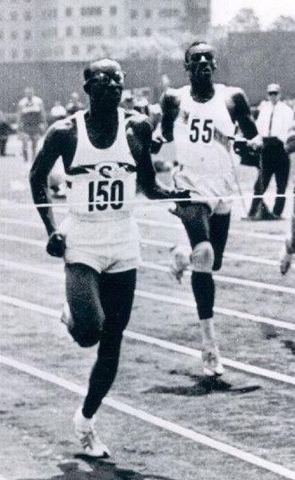 Ulis Williams - Williams (left) in 1961