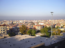 Manisa's view from the Ulu Mosque