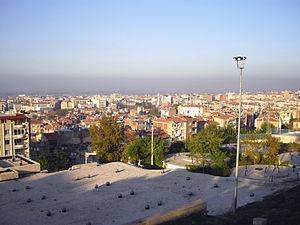 Manisa - Manisa's view from the Ulu Mosque