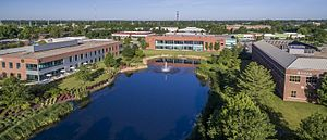 Research Park at the University of Illinois at Urbana-Champaign - Image: University of Illinois Research Park Aerial View 2017
