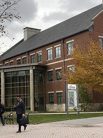 University of the Sciences - Campus entrance