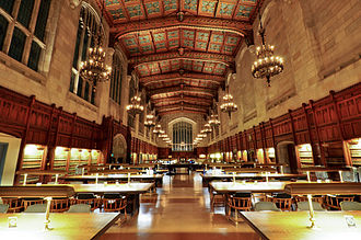 University of Michigan - Law Library Interior