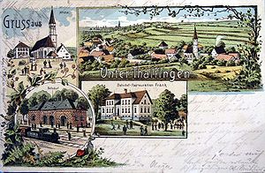 Elchingen - Unter-Thalfingen in 1903