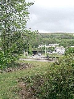 Upper Boat Human settlement in Wales