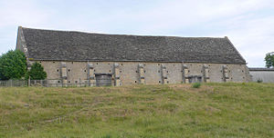 Upper Heyford, Oxfordshire - New College Barn, built about 1400