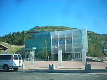 Photo of the Joe Quinney Winter Sports Center