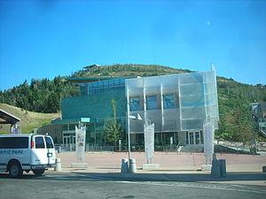 Utah Olympic Park - The Joe Quinney Winter Sports Center inside the park